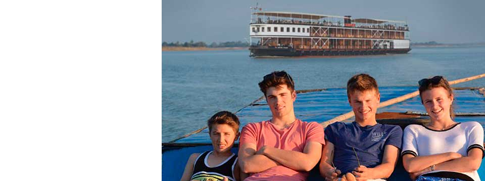 Pandaw River Cruises - School Holiday Specials